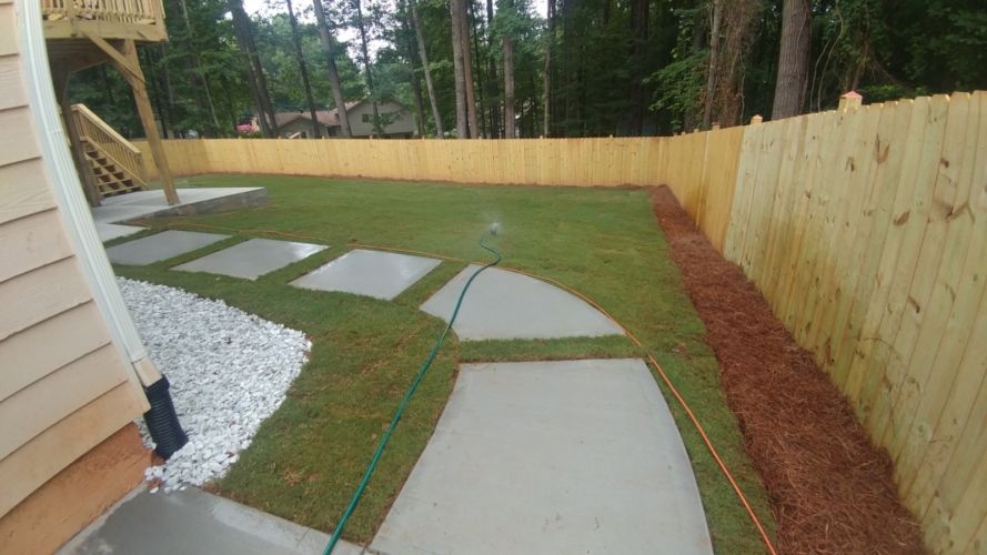 Rudys Tree Service and Landscaping Projects