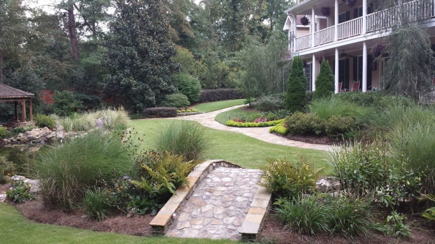 Projects by Rudys Tree Service Hardscaping